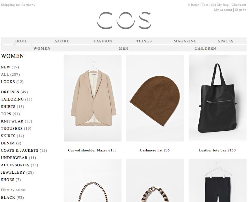 COS Online Shop