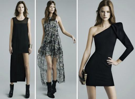 Zara Kleider schwarz